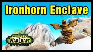 Ironhorn Enclave WoW Explore Highmountain
