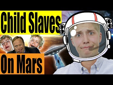 Alex Jones Thinks There Are Child Slaves On Mars