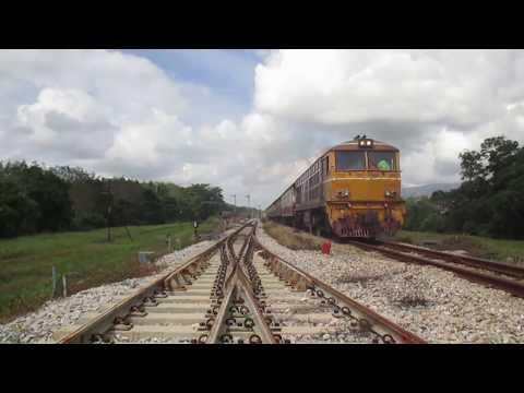 หัวรถจักรดีเซลไฟฟ้า Alsthom Diesel Electric Locomotives  เครื่องยนต์ Pielstick # Railway Thailand