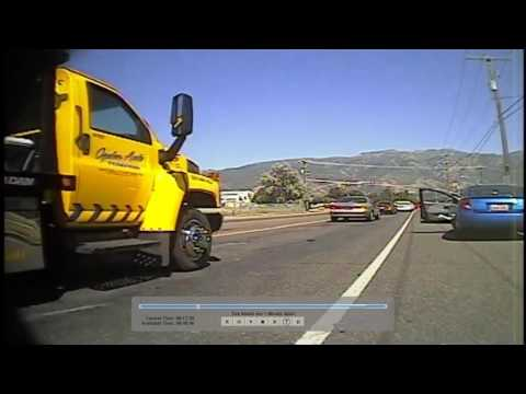 (DASH CAM) Layton, Utah Police accuse driver of DWI after an accident  (FULL)