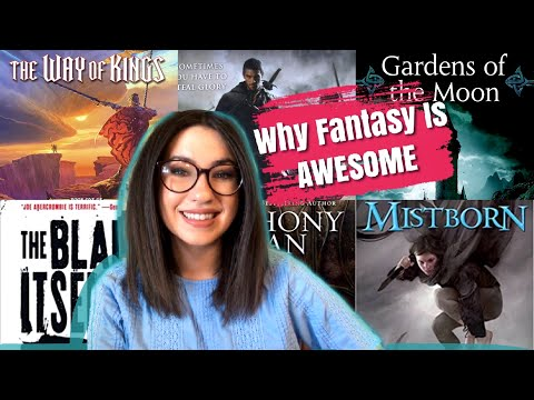 WHY FANTASY BOOKS ARE AWESOME