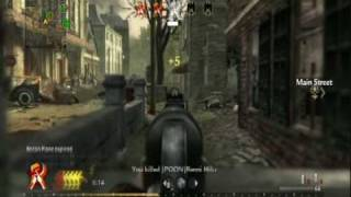 Call of Duty World at War - War! Multiplayer 1 (MP40) [ part 1/2]