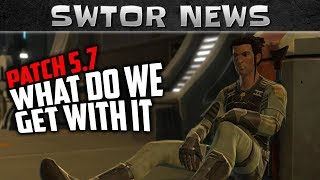 SWTOR Game Update 57 - Release Date and What Content Do We Get