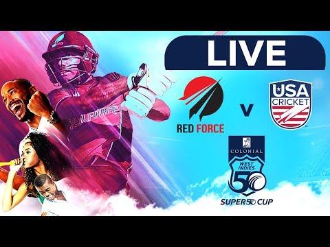 🔴LIVE Trinidad & Tobago Vs USA   Colonial Medical Insurance Super50 Cup