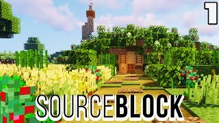 Sourceblock #1 I JOINED AN SMP : Minecraft 1.14 Survival Multiplayer