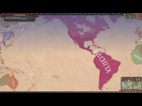EU4 - Timelapse - First American Empire