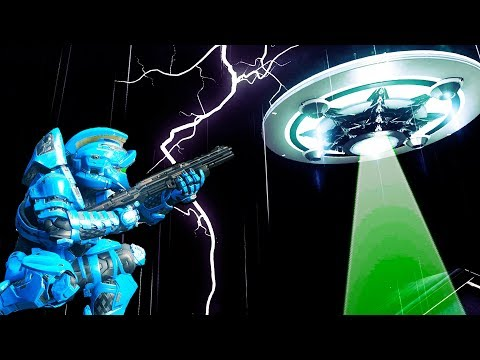 Extraterrestrial Contact in Halo 5!