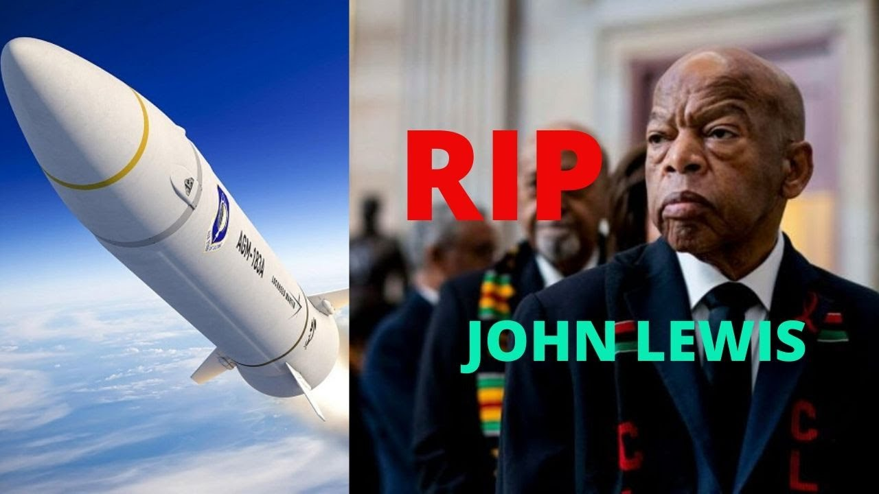 TRUMP YEREKANYE IGISASU AZARASHISHA UBUSHINWA/DEPITE JOHN LEWIS UMWIRABURA UKOMEYE MURI USA YAPFUYE