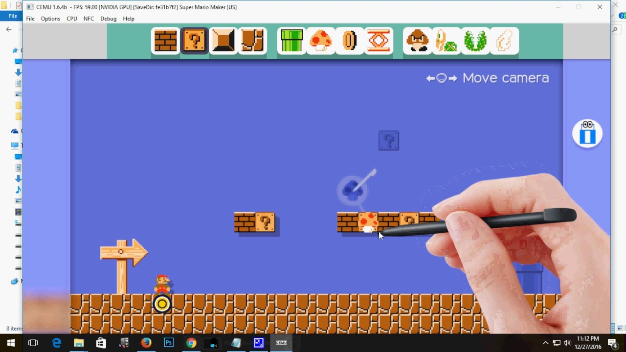 How To Play Super Mario Maker WII U Game on PC