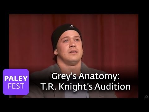 Grey's Anatomy  T.R. Knight On Auditioning