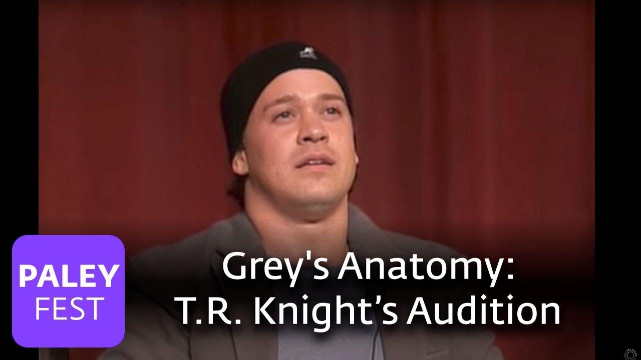 Greys Anatomy Tr Knight On Auditioning Youtube