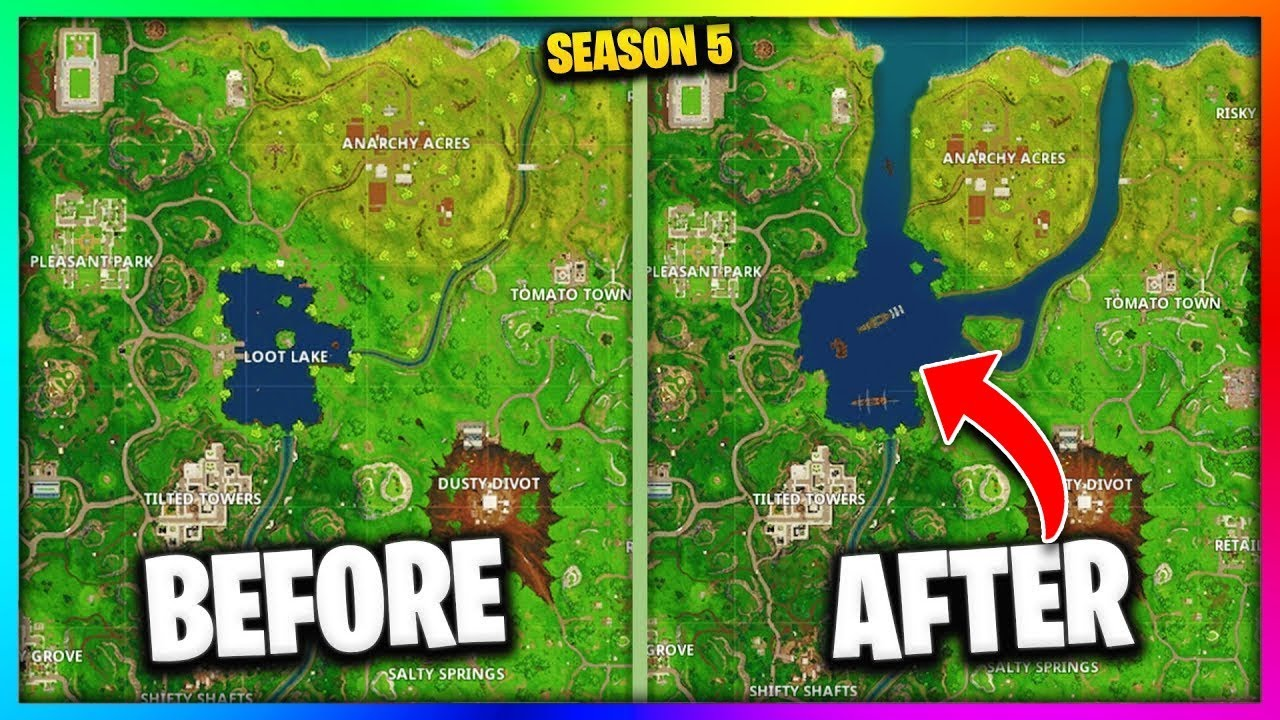9 New Fortnite Locations COMING IN SEASON 5! - YouTube
