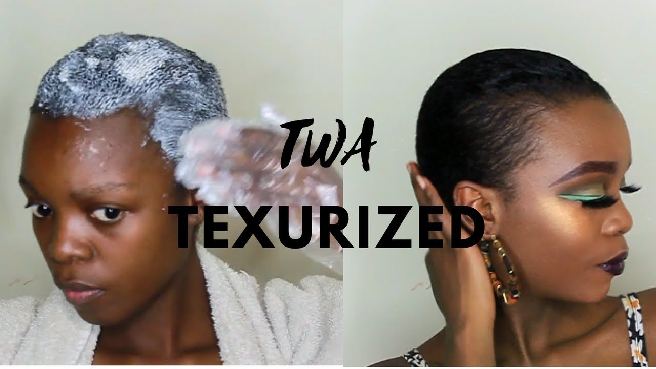 How I Texturized My Twa Hair Using Curl My Way Texturizer
