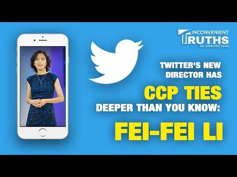 Twitter's New Director has CCP Ties Deeper Than You Know: Fei-fei Li