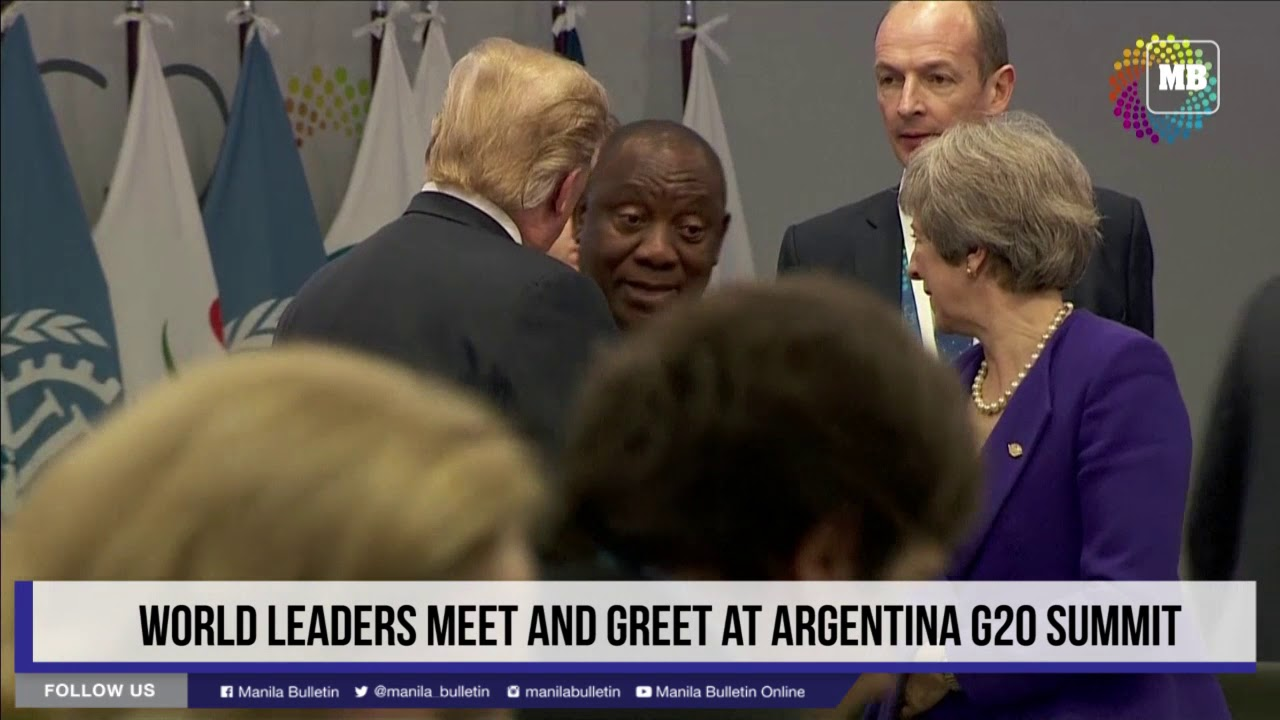 World leaders meet and greet at Argentina G20 summit