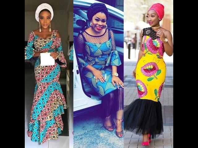 Latest Ankara gown styles 2018 ▷ NAIJA.NG