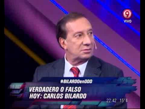 DURO DE DOMAR  VERDADERO O FALSO  CARLOS BILARDO  TERCERA PARTE  310812