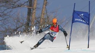 Josh Sundquist Ski Racing in the 2006 Paralympics
