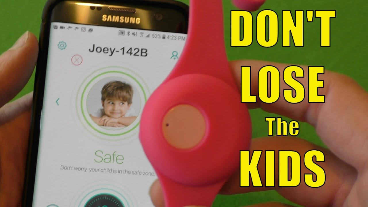 Joey Tag Review A Child Safety Wearable Tracker With No Monthly Fees