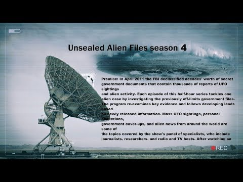 Unsealed Alien Files  UFOs From Earth
