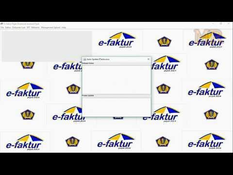 E-Faktur Gagal Update Error ETAX-40006 : Error Update tidak dapat mengambil file download