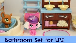 Fisher-price Loving Family Dollhouse Bathroom Review (using It For Lps)