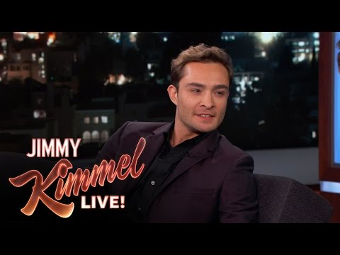 Ed Westwick's First Time in America