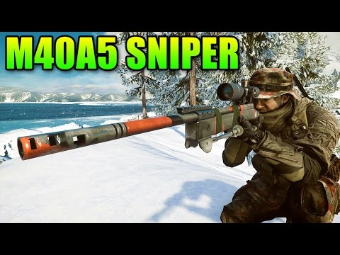 sniper-sunday---m40a5-rate-of-fire-or-muzzle-velocity?-|-battlefield-4-sniper-gameplay
