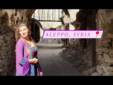One of the oldest continuous inhabited cities in the world … Aleppo, Syria