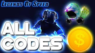 Roblox Legends Of Speed - ALL SECRET CODES! [NEW CODES!]