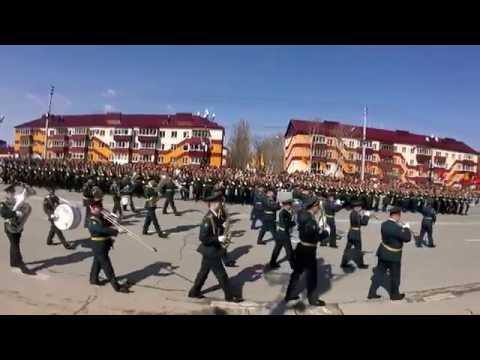 Парад Победы 9 мая 2016 года Южно Сахалинск