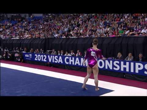 Bridget Sloan - Floor - 2012 Visa Championships - Sr. Women - Day 1