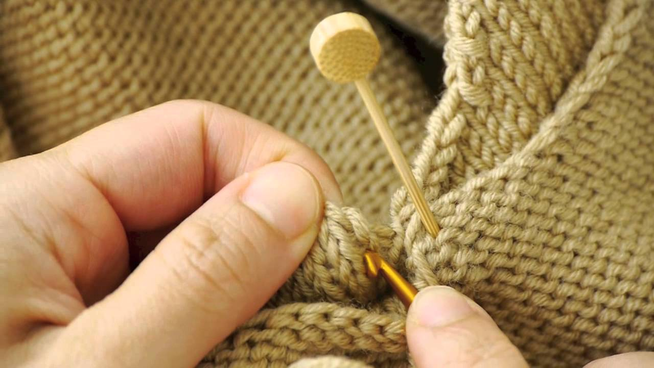 How To Attach Sleeves Using Crochet Hook Youtube