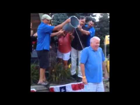 Brick Mayor John Ducey Takes the 'Ice Bucket Challenge'