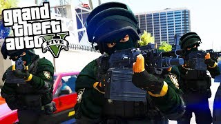 SEK / SWAT IM EINSATZ! - GTA 5 Polizei Mod - Deutsch - Grand Theft Auto V LSPDFR