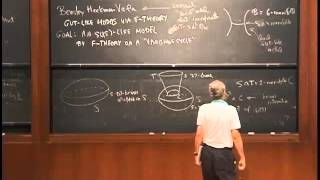 Edward Witten, String Compactifications, Lecture 1 of 2