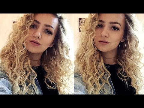 TIGHT CURLS HAIR TUTORIAL (With A Curling Wand)
