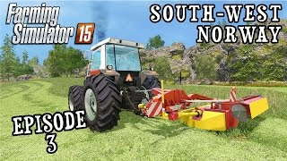 Let's Play Farming Simulator 2015 | South West Norway | Episode 3