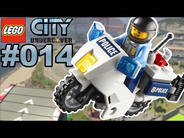 LEGO CITY UNDERCOVER #014 Rennen mit dem Polizeimotorrad ???? Lets Play LEGO City Undercover [Deutsch]