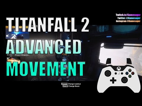 Titanfall 2:  How to move like me: Slide hopping, Airstrafing, and wall hops. controller cam.