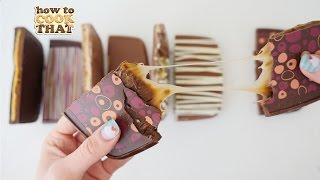 HOW TO MAKE CHOCOLATE BLOCKS How To Cook That Ann Reardon (Caramel & S'mores)