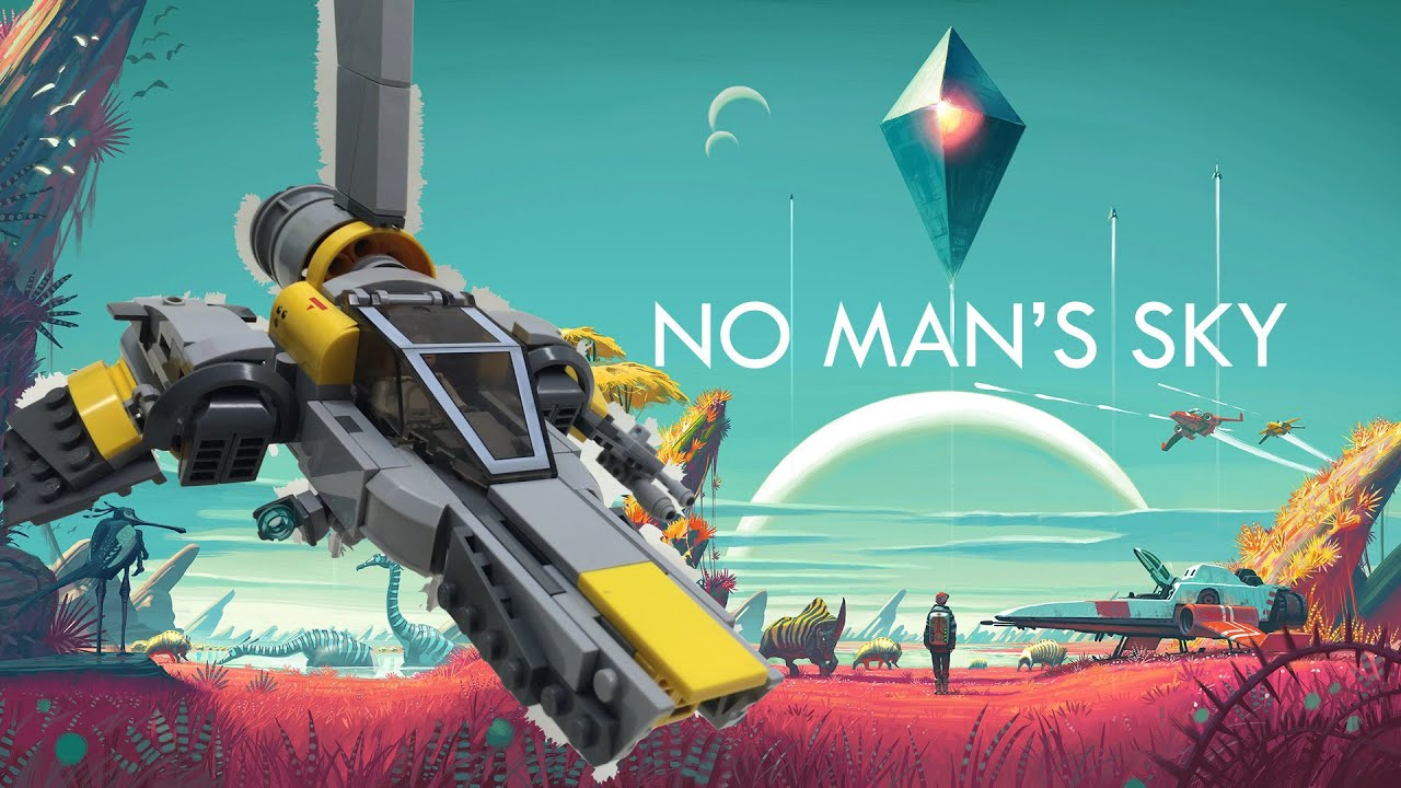 No Man's Sky My fully upgraded Ship / Suit / Multi-Tool - YouTube