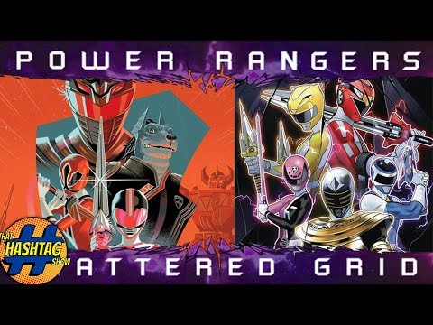 REVIEW: Power Rangers: Shattered Grid 2018 Annual By Boom Studios
