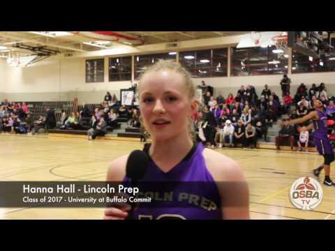 Hanna Hall PostGame