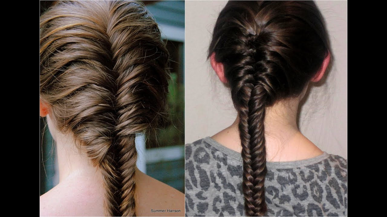 How To: French Fishtail Braid - YouTube