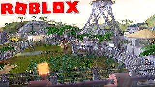 Jurassic Park (Roblox)-Jurassic Hunt, growing Park-(#3) (Gameplay EN-BR)