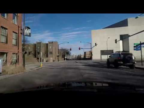 Driving Through Downtown Des Moines, IA