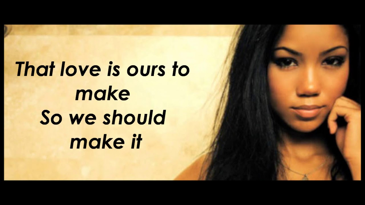 What I am trying to say is.... The love is ours to make so ... |Jhene Aiko Bed Peace Lyrics