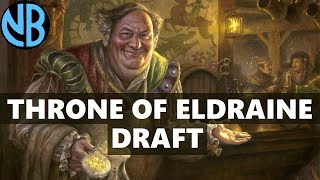 THRONE OF ELDRAINE DRAFT!!! ADVENTURE PAYOFFS ARE INSANE!!!