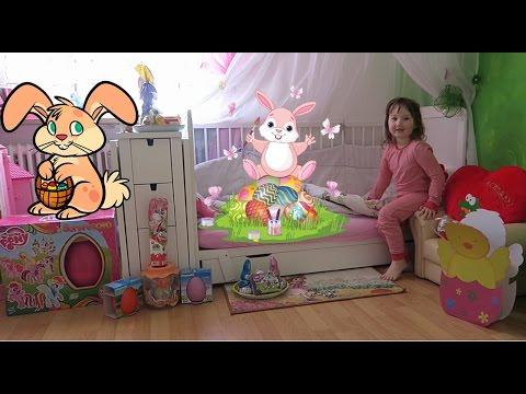 #Подарки от Пасхального зайчика киндер сюрприз лего френдс и др. игрушки Easter Bunny's presents